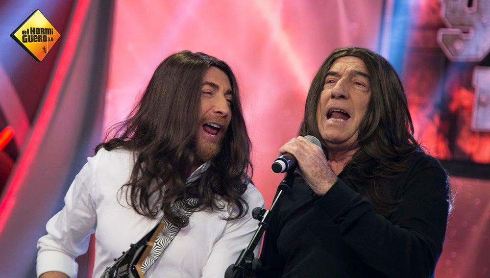 José Luis Perales canta 'Y cómo es él' en versión heavy metal en 'El Hormiguero 3.0'