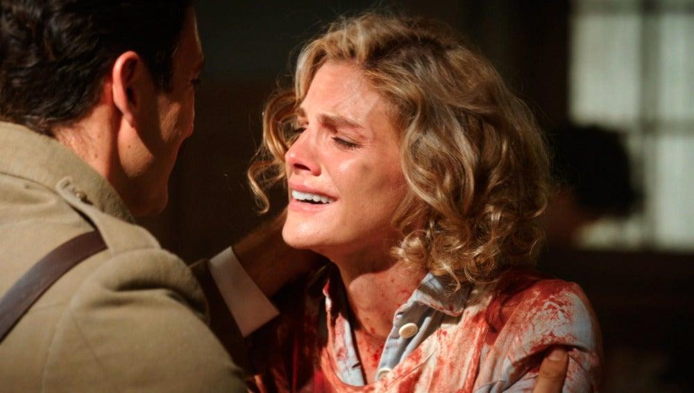 Julia regresa al hospital con el alma destrozada