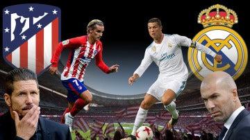 Atlético de Madrid vs Real Madrid, primer derbi en el Wanda Metropolitano