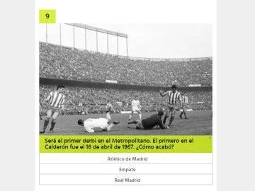 Trivial Atlético - Real Madrid