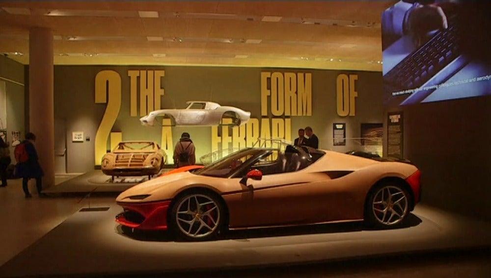 Homenaje a Ferrari en el 70 aniversario de la marca de automóviles