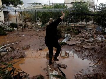 Lluvias torrenciales en Grecia