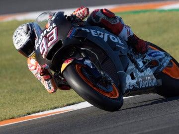 Marc Márquez, rondando con la Honda de 2018