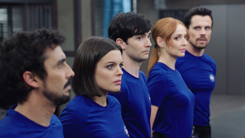 Elena, Salva, Ximo, Berta y Josemari, dispuestos a un nuevo reto