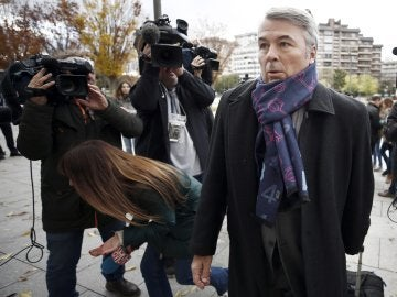 Agustín Martínez, abogado de los acusados