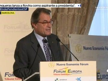 Artur Mas: ¿Somos bastante mayoría para tirar adelante y estamos preparados para la independencia?