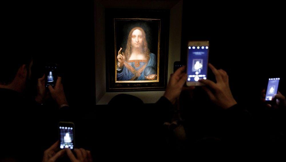 Un cuadro de Da Vinci, subastado en Nueva York por más de 380 millones de euros