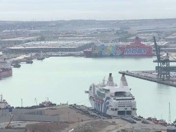 REEMPLAZO   El crucero policial amarrado en Tarragona conocido como 'Piolín' zarpará antes del sábado