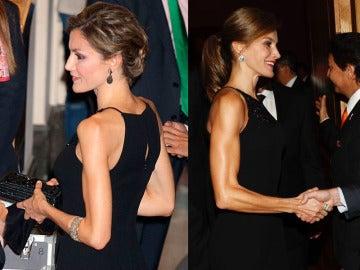 La transformación de los brazos de la reina Letizia