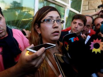 Itatí Leguizamón, esposa de uno de los tripulantes del submarino desaparecido