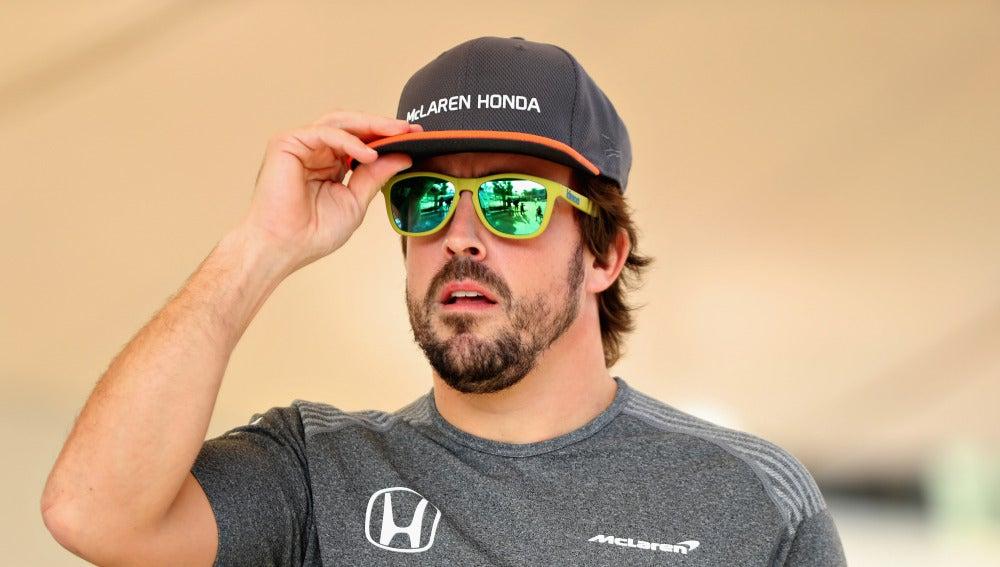 Fernando Alonso, en Abu Dabi