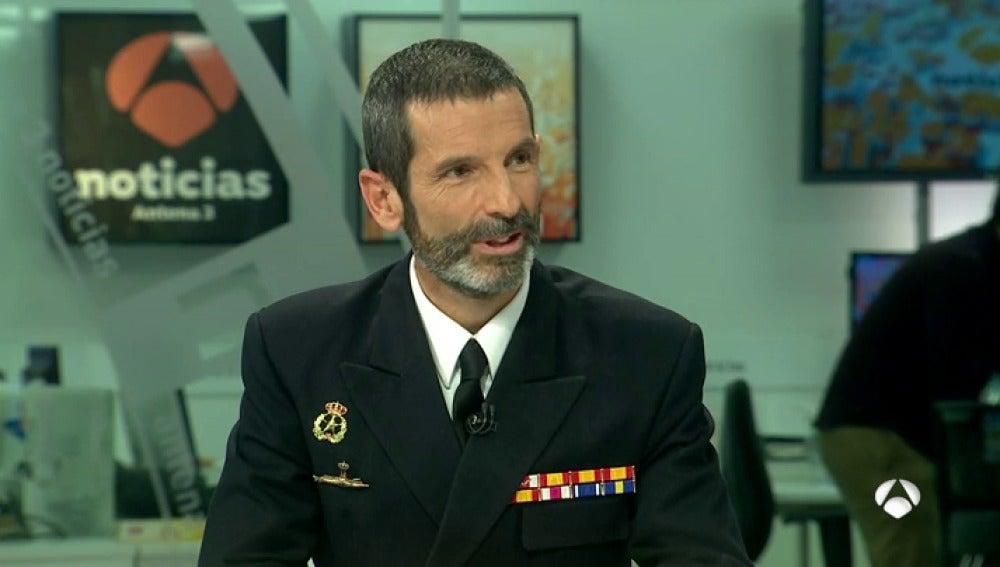 Santiago de Colsa, capitán de fragata de la Armada española