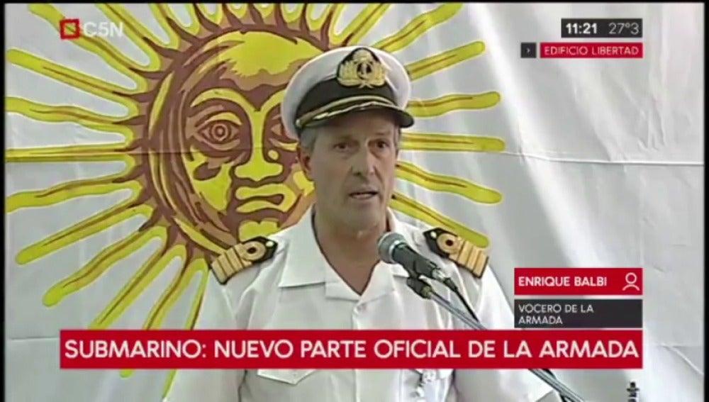 Portavoz de la Armada Argentina