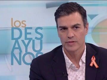 """Pedro Sánchez: """"No apoyaremos un presidente catalán independentista ni de derechas"""""""