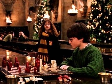 El Gran Comedor en Navidad