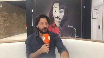 """Álvaro Morte: """"El capítulo final es trepidante y explosivo"""""""