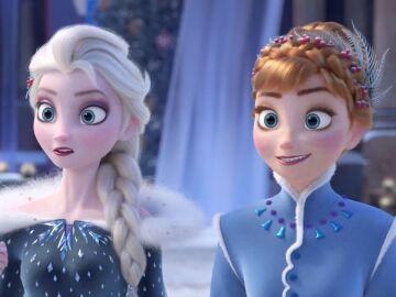 Anna y Elsa de 'Frozen'