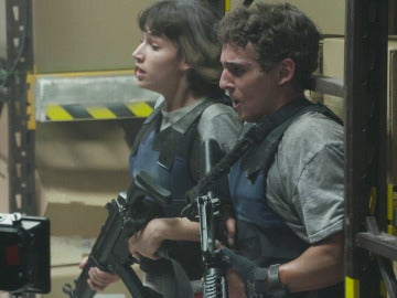 Armas, destrucción y mucha adrenalina en el rodaje del último capítulo de 'La casa de papel'