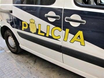 Un coche de la Policía.
