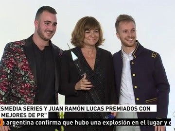 Series Atresmedia recibe un premio 'Los mejores de pr 2017'