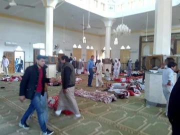 Atentado en una mezquita en el Sinaí egipcio