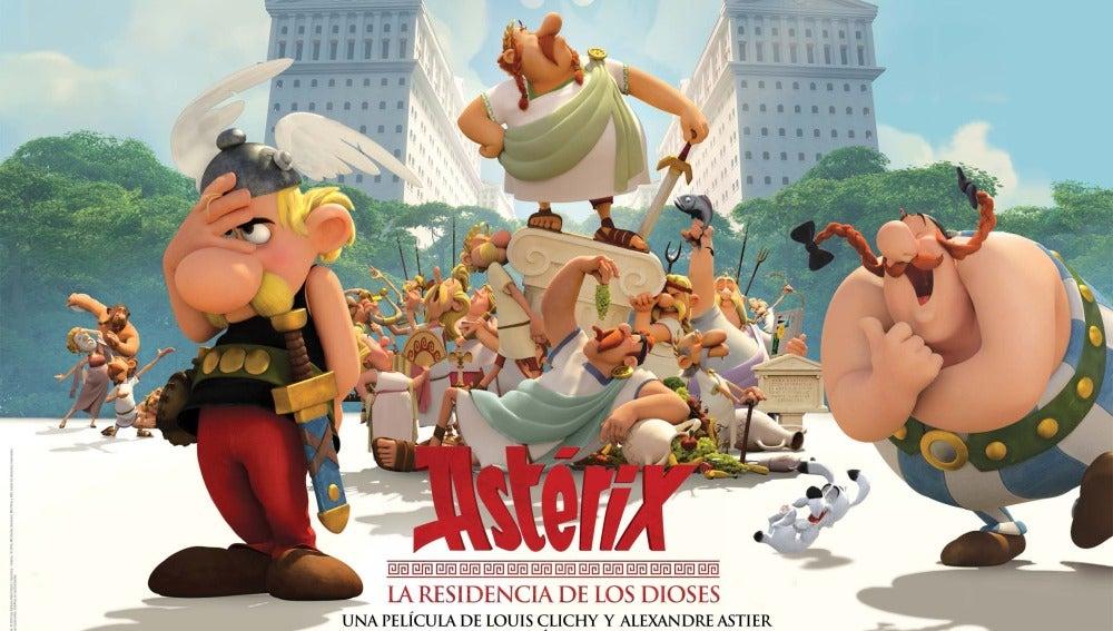 Axterix y la residencia de los dioses