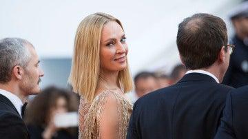 Uma Thurman en el pasado Festival de Cannes