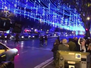 Madrid da el pistoletazo de salida a la Navidad con el encendido de las luces