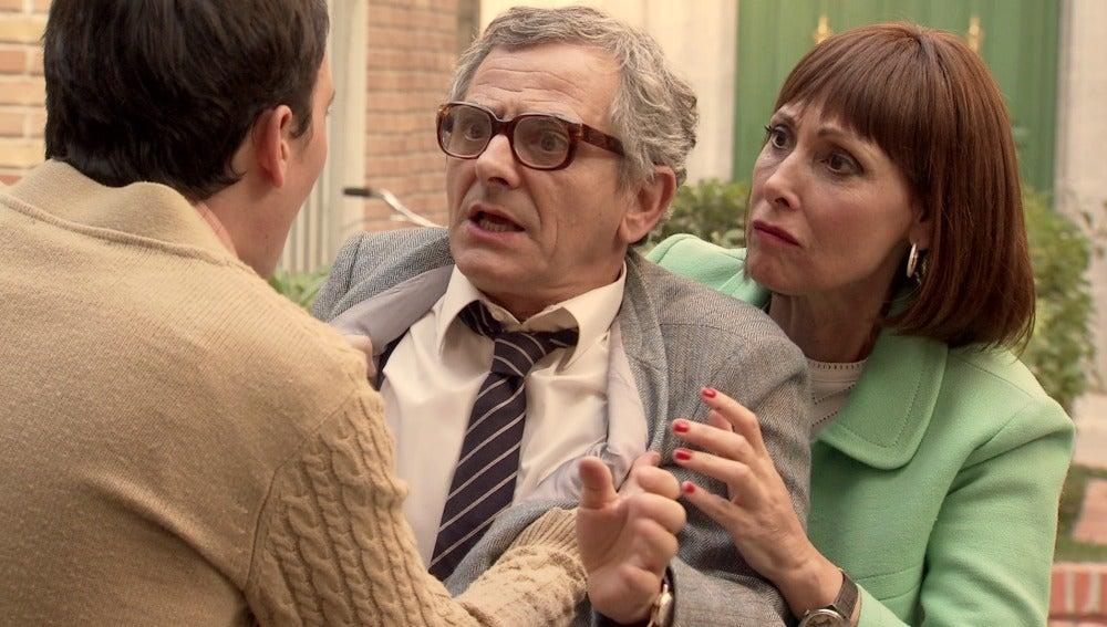"""Teresa aterrorizada por las amenzas de Luis: """"Nos va a matar a los tres"""""""