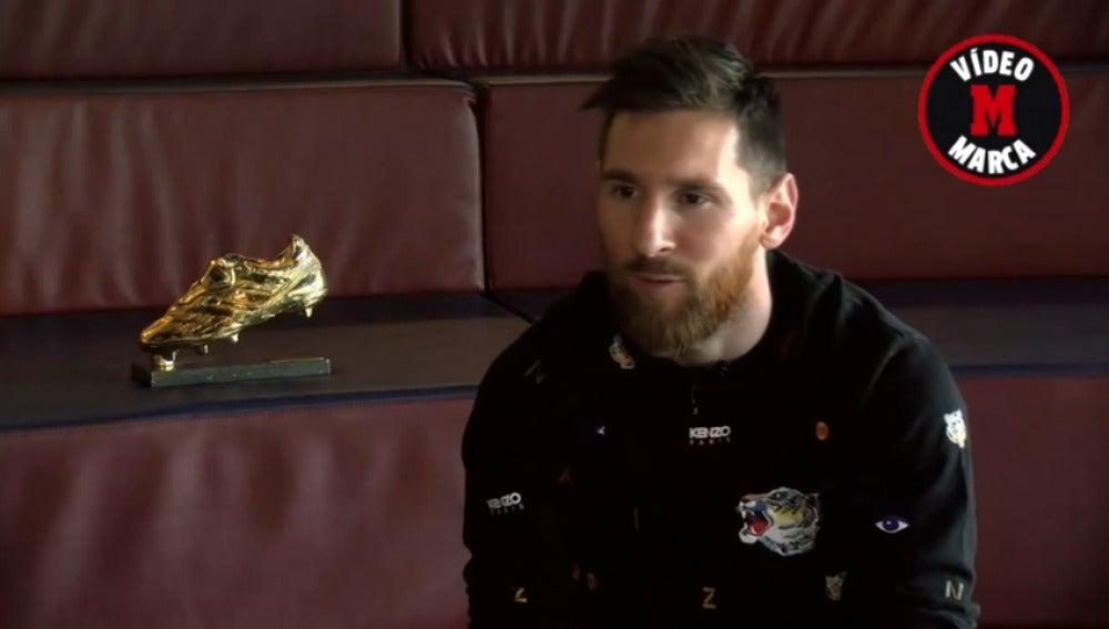 """El Messi más personal: """"Mi hijo me mira raro cuando me paran para firmar autógrafos"""""""