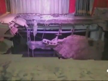 Al menos 40 heridos en Tenerife tras ceder el suelo de una discoteca de Adeje