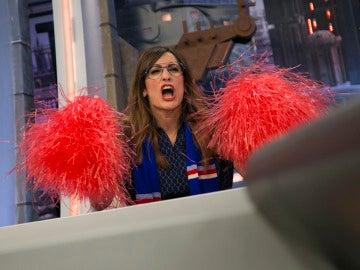 Ana Morgade reproduce los mejores enfados de la semana