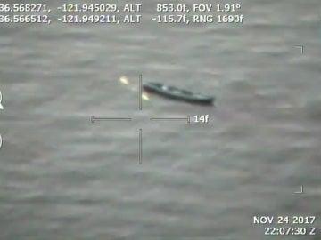 Captura del vídeo de la Oficina del Sheriff del Condado de Monterey