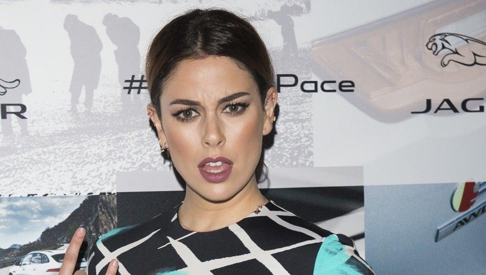 Blanca Suárez posa con su cara más gamberra