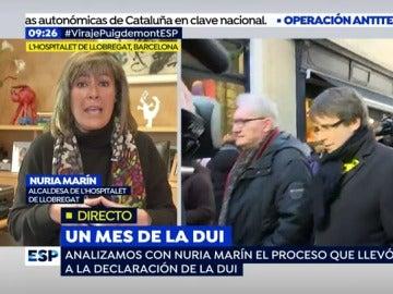 Nuria Marín, alcaldesa de L'Hospitalet de Llobregat