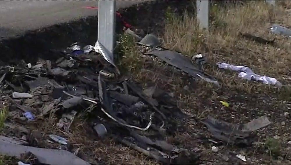 Tres muertos en un accidente entre un coche y una furgoneta en Benifallet