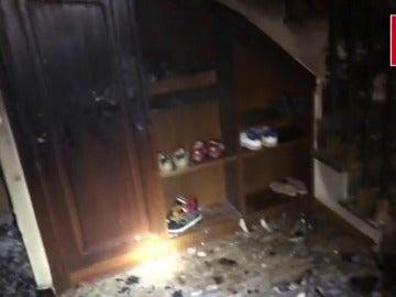 Unas velas podrían haber originado el incendio en Alcorcón, Madrid