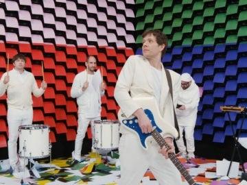 Captura del videoclip del grupo OK Go