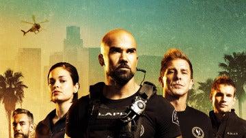 Los protagonistas de 'SWAT'