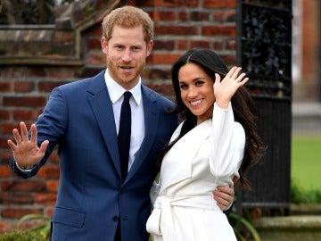 Primer posado oficial del príncipe Harry y Meghan Markle