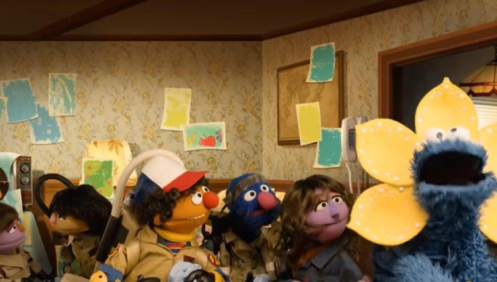 'Barrio Sésamo' parodia 'Stranger Things'