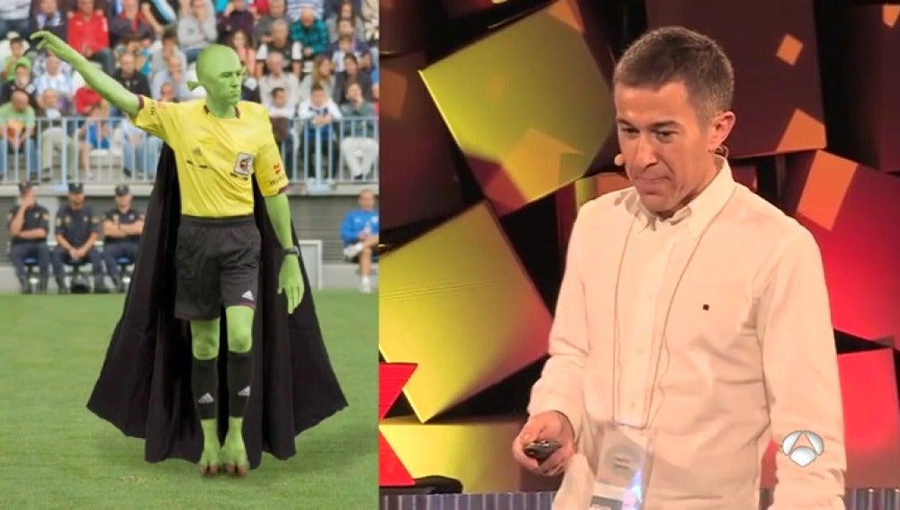 """Cuando Iglesias Villanueva bromeaba con su profesión: """"Soy árbitro, no estoy acostumbrado a los aplausos"""""""