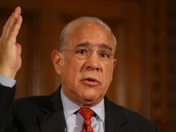 El secretario general de la OCDE, el mexicano Ángel Gurría