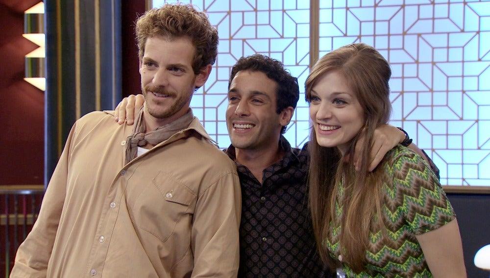 La calma llega a las vidas Ignacio, Javier y Susana