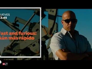 'Fast and Furious: aún más rápido' llega veloz a Antena 3