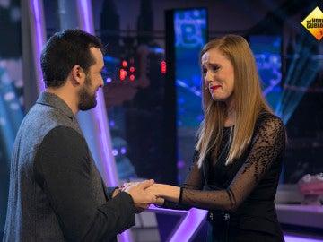 María Castro y José Manuel Villalba bailan 'Dirty Dancing' en 'El Hormiguero 3.0' para celebrar su futura boda