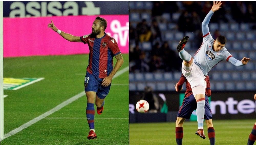 Levante y Celta, a octavos de final de la Copa del Rey