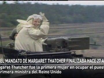 El mandato de Margaret Thatcher finalizaba hace 27 años