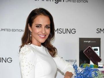 Paula Echevarría en la presentación de Samsung