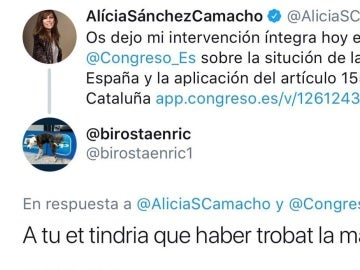 """El PP denunciará a un tuitero por escribir a Sánchez Camacho: """"A ti te tendría que haber encontrado 'La Manada'"""""""